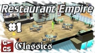 Restaurant Empire #1 Start und abruptes Ende Classics Lets Play deutsch