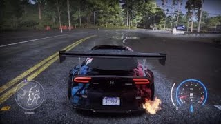 Need for Speed™ Heat Drift Zone Crazy Sled Ride