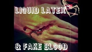 Liquid Latex & Fake Blood ☠ Halloween Recommendations!☪ Thumbnail