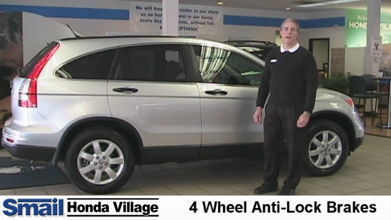 2011 Honda CR V. Video Review Of Safety And Performance