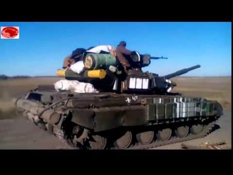 Украина АТО Танки ВСУ  направляются на Донецк Луганск   ДНР ЛНР аэропорт  моторола