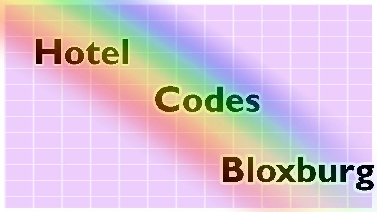 Hotel Codes Bloxburg Katty Youtube