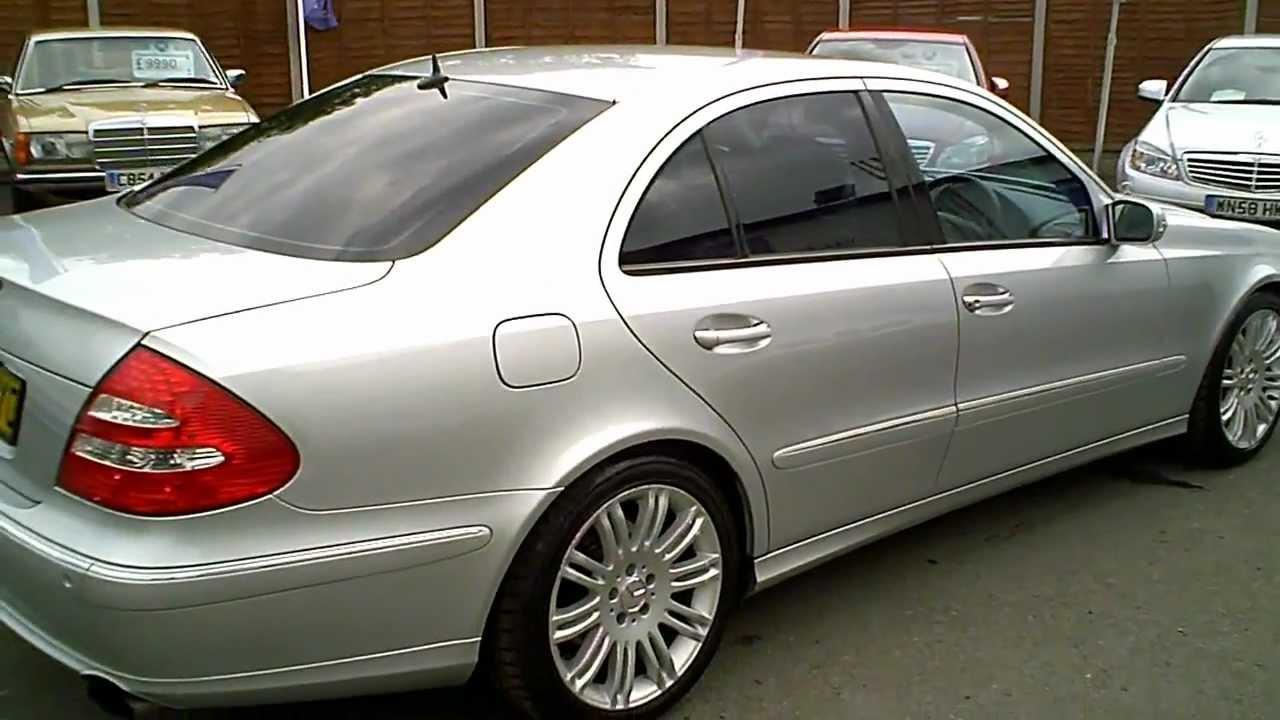 2005 55 mercedes e320 cdi sport saloon automatic v6 for Mercedes benz e 320 cdi