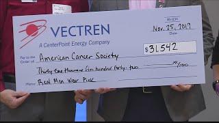 Vectren raises $31,000 as part…