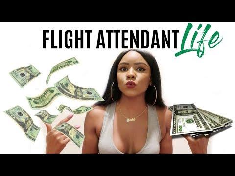 Flight Attendant Question & Answer | MONEY? Crazy Experiences?