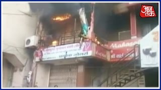 Major Fire At Commercial Building In Akola, Leaves Two Injured