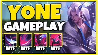 NEW CHAMPION YONE IS 100% BEYOND BROKEN! (AOE ZED ULT) YONE MID GAMEPLAY! - League of Legends