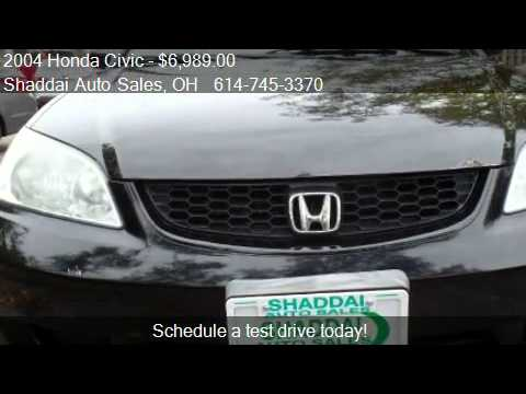 2004 Honda Civic EX 2dr Coupe for sale in Whitehall, OH 4321