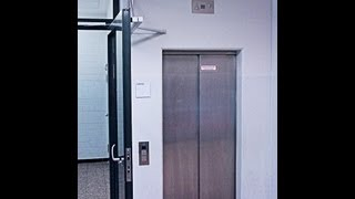 Tour of the locked off lifts at Gymnasium Adolfinum in Moers, Germany