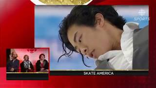 Nathan Chen | Skate America SP CBC commentary