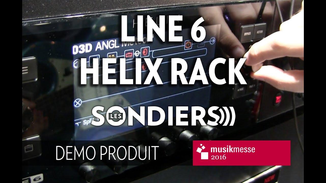 Download [MESSE 2016] Test du Line 6 Helix rack [FR]