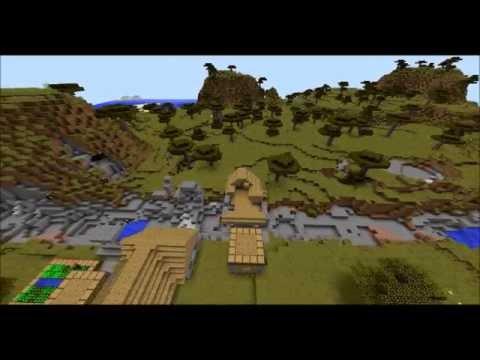 Minecraft: Airship Carpet Bombing