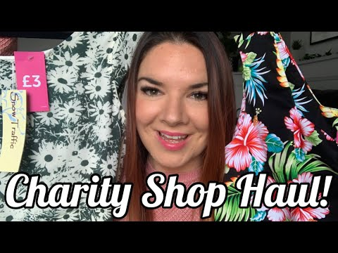 Charity Shop Haul | Thrift Haul | Oliver Bonas | Primark | Disney | Kate McCabe