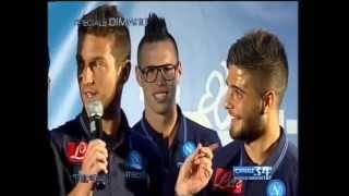 """Insigne a Mertens: """"Nu fa 'o scemo!"""" - Tifosi Speciale Dimaro 20/07/13"""