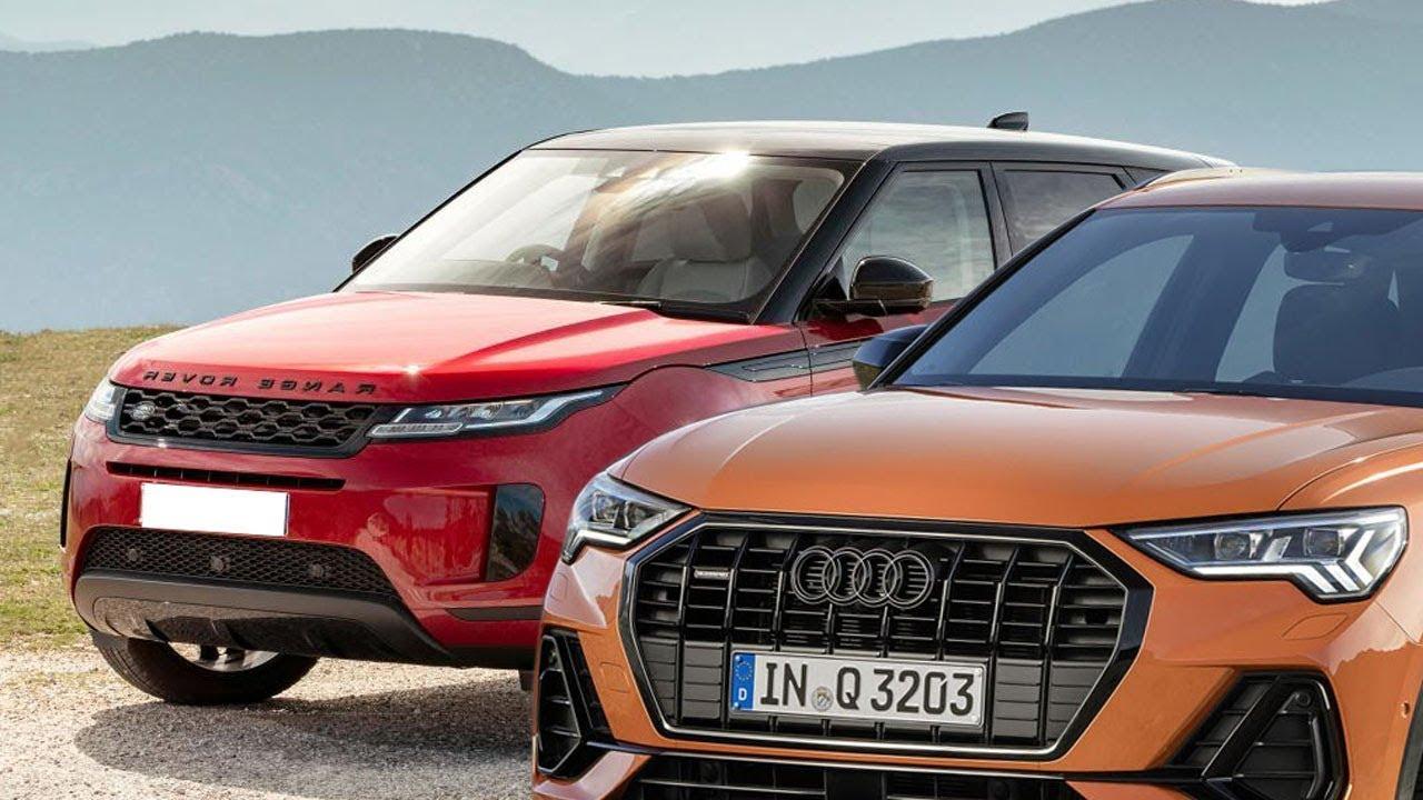 2019 Range Rover Evoque Vs 2019 Audi Q3 Youtube