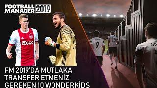 FM 2019 'da Mutlaka Transfer Etmeniz Gereken En İyi 10 Wonderkids