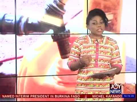 Ghana Water Company Limited - Joy News Today (17-11-14)