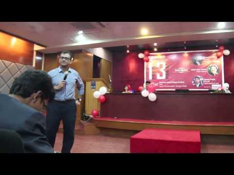 Naveed Mahbub at Podium
