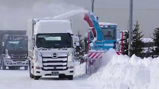 Мощная снегоуборочная техника