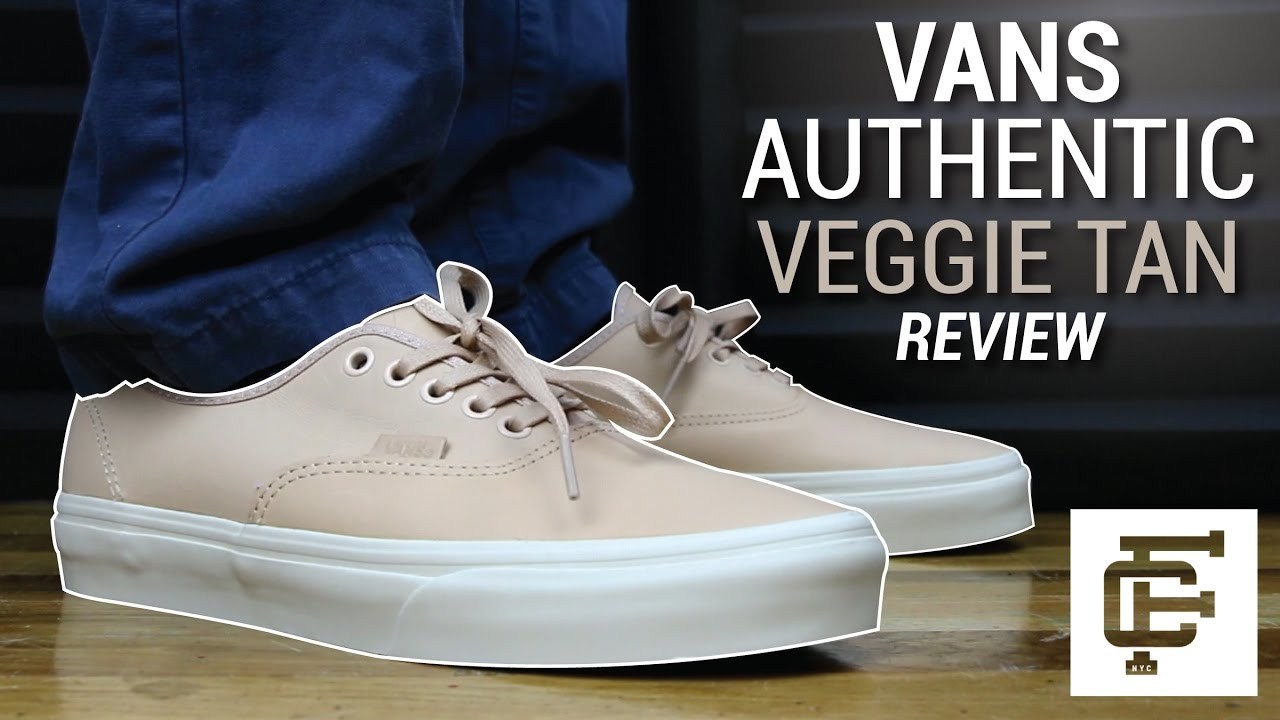 VANS AUTHENTIC VEGGIE TAN REVIEW - YouTube 1519afaf568a