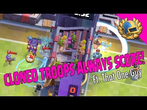 CLONED TROOPS ALWAYS SCORE! Biggest Fail of my Career! - Clash Royale
