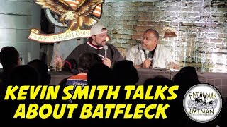 KEVIN SMITH TALKS ABOUT BATFLECK
