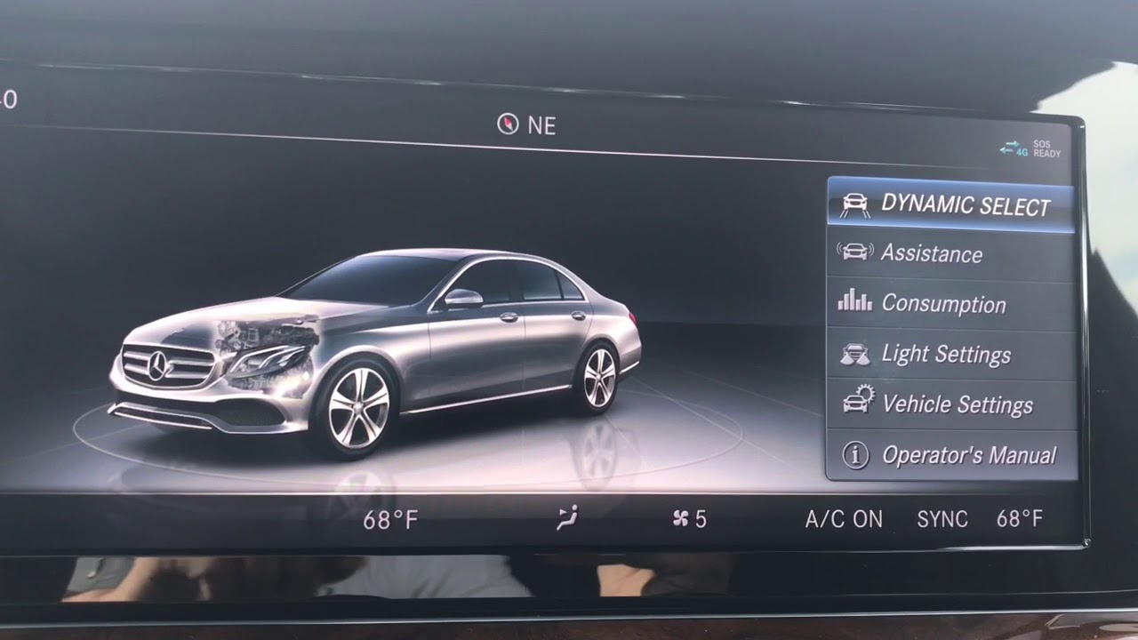 2018 mercedes benz e sedan voice controls climate control settings rh youtube com mercedes benz linguatronic manual 2009 Mercedes E350 Manual