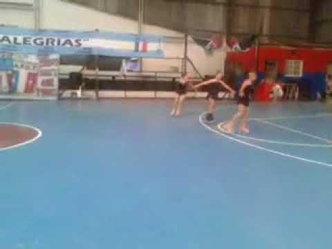 Coreografia grupal (Torneo Amistoso A.F.U.T)