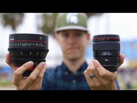 $1,000 Lens vs $4,000 Lens — Are Cinema Lenses Worth It?
