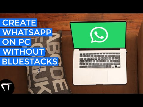 How To Install WhatsApp On PC Or Laptop Without BlueStacks | CYBERTECH