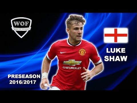 LUKE SHAW | Manchester United | Skills | 2016/2017  (HD)