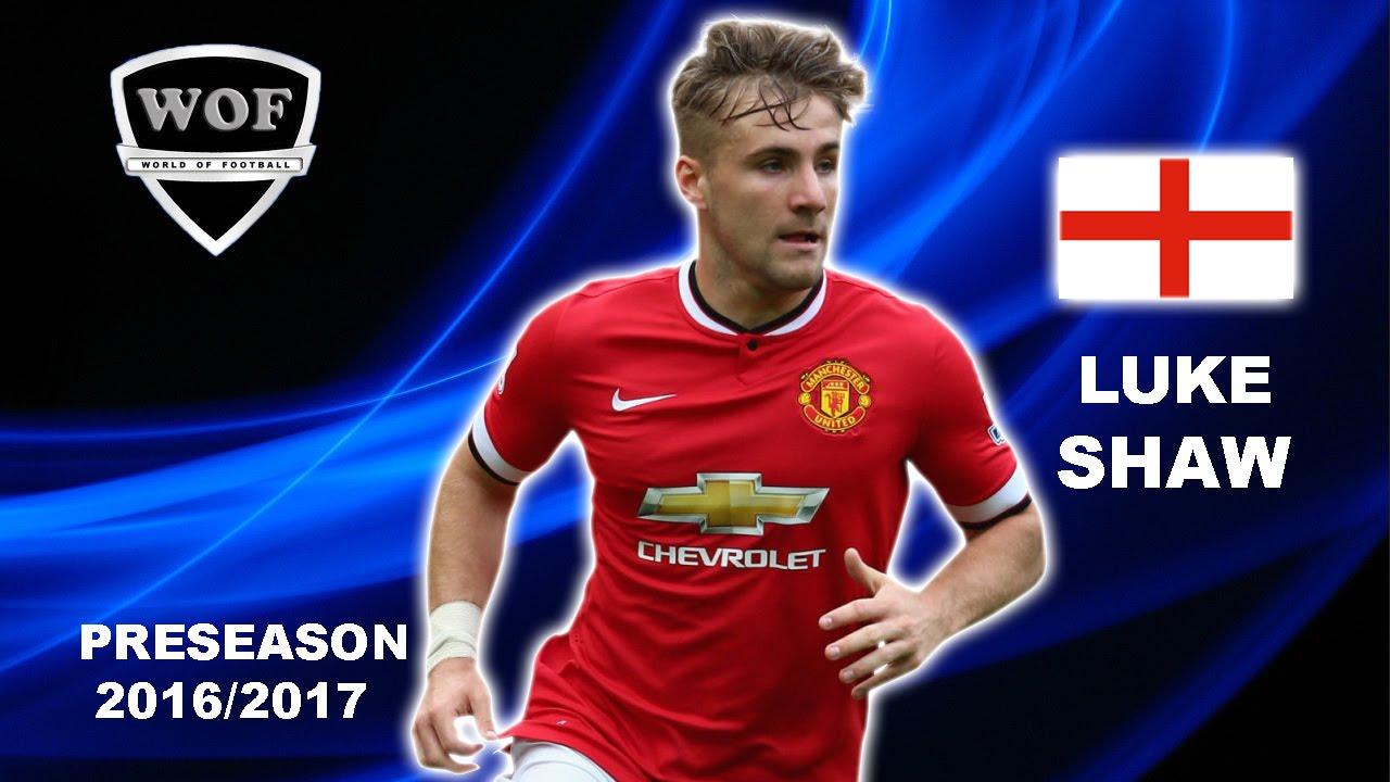 LUKE SHAW Manchester United Skills