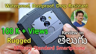 Rugged Military Smartphone Review in Telugu for Only Rs10,500