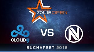 CS:GO - Cloud9 vs. EnVyUs - Dust2 - Semi Finals - DreamHack ZOWIE Open Bucharest 2016