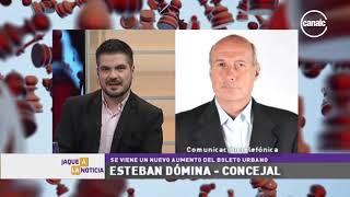 Esteban Dómina | Nuevo aumento del boleto urbano