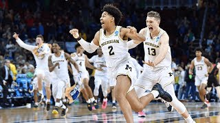 Houston vs. Michigan: Jordan Poole shot beats the buzzer for the win!