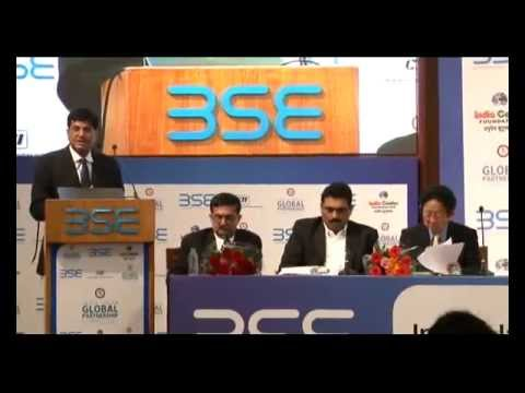 "BSE Ltd. and India Centre Foundation  ""India-Japan Global Partnership and Impact on Indian Economy"""