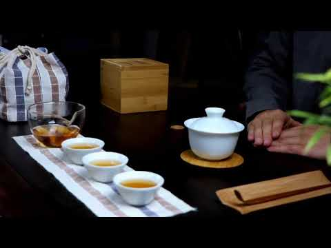 旅行便攜包式茶盤一壺三杯八件組