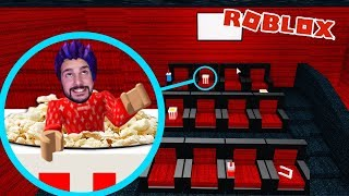 Roblox: DO TO PLAY AS OBJECTS! KAAN AS POPCORN IN THE CINEMA! Blox Hunt Hide And Seek