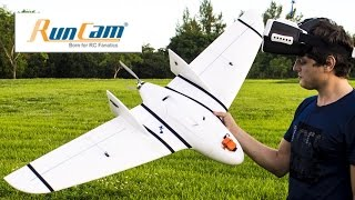 run Cam 2 in FPV Wing. Fast Flying. 120FPS 720P