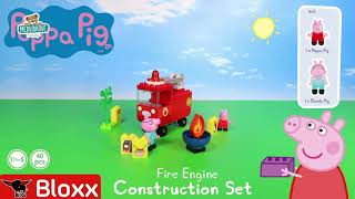 Stavebnice Peppa Pig Fire Engine PlayBIG Bloxx BIG