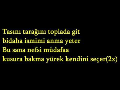 Demet Akalın feat.Gökhan Özen-Nefsi M�a Lyrics