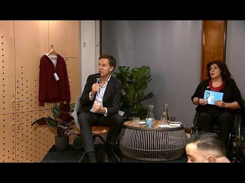 Mark Rutte bezoekt Schilderswijk - Politiek Wijkcafé
