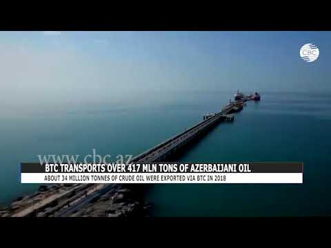 BTC TRANSPORTS OVER 417 MLN TONS OF AZERBAIJANI OIL