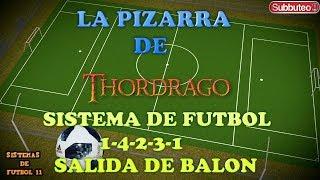 SISTEMA 1-4-2-3-1 SALIDAS DE BALÓN