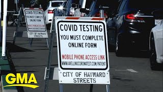 US reports record-high number of new COVID-19 cases in a day  l GMA