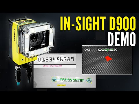 In-Sight D900 Deep Learning Vision System Demo