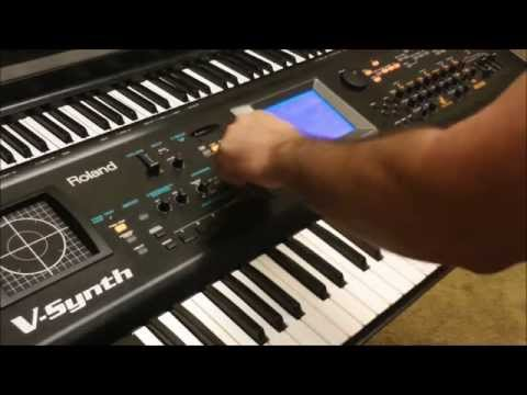 Fun with Roland V Synth Presets