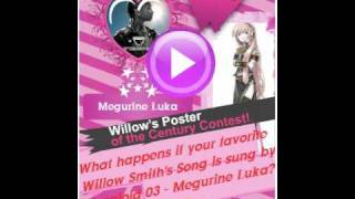 Cover of 21st Century Girl  by Willow Smith Megurine Luka Vocaloid