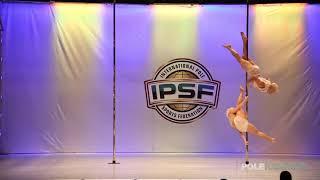 Martin Portillo  Macarena LLanir - IPSF World Pole Championships 2018